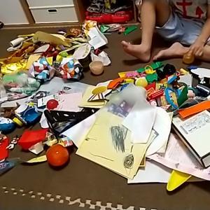 【未就園児】おもちゃ整理は短期集中がおススメ!その理由とママの負担軽減の効果。