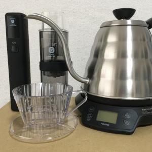 コーヒーを淹れる3つの機材を紹介【コーヒー初心者】