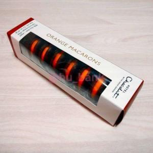 3-8.正直レポ【手土産におすすめ!イギリス輸入のオシャレチョコレート】マカロンオレンジ(MACARONS Orange)@ホテルチョコレート(Hotel Chocolat.)