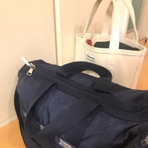 ダイソーの○○バッグで、スポーツバッグの中身を仕切る!
