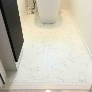 【一条工務店 i-smart】トイレの床の張り替え