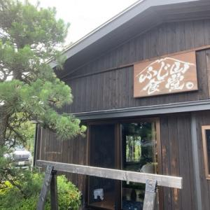 富士吉田市の「ふじ山食堂」で吉田うどん付きの生姜焼き定食