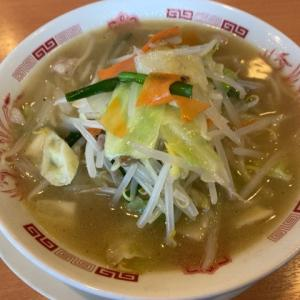 日高屋日高高萩店で野菜たっぷりタンメン
