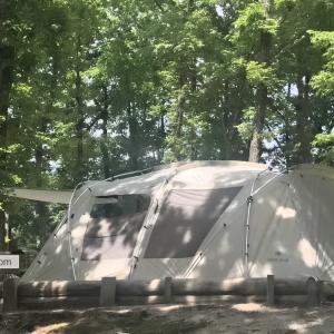 【ランドロック】夏は快適に使えるの?実際ファミリーキャンプで4シーズン使った感想【スノーピーク】