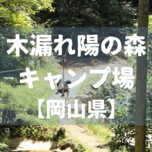 【岡山県】木漏れ陽の森キャンプ場に行ったよレビュー #2