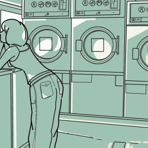 梅雨前に 洗濯槽のカビ取り