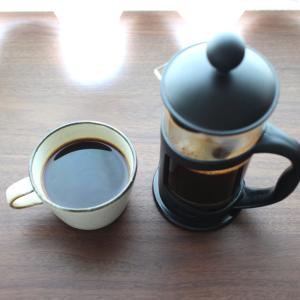 コーヒーを淹れてみよう フレンチプレス
