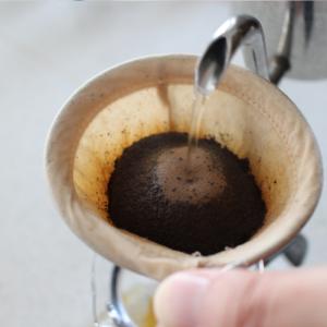 コーヒーを淹れてみよう  ネルドリップ
