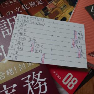 簿記3級試験もようやく終わり、とりあえず身辺整理