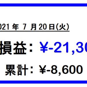 【27日目】2銘柄撃沈!からの様子見