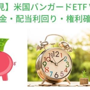 【必見】米国バンガードETF VTIの配当金・配当利回り・権利確定日