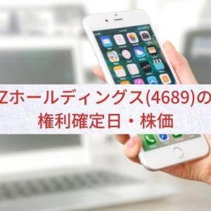 【好調】Zホールディングス(4689)の配当金・権利確定日・株価