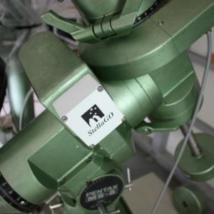 Pentax MS-5 赤道儀 モーター換装 対恒星時1500倍速 自動導入改造