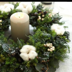 【クリスマス準備】オーナメント、電飾、リース、カード