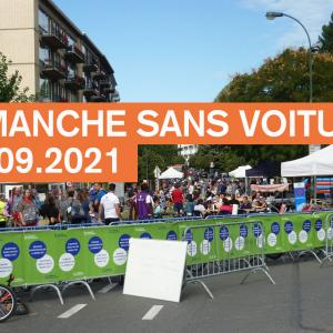 Dimanche sans voiture à Bruxelles le 19 septembre 2021