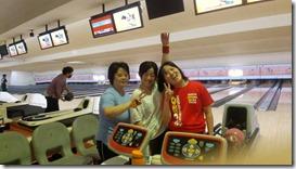 ボウリング:活動休止中 3人娘のボウリング