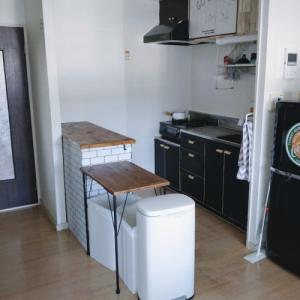 キッチンスペースを広げる実験①、数日試してみた感想