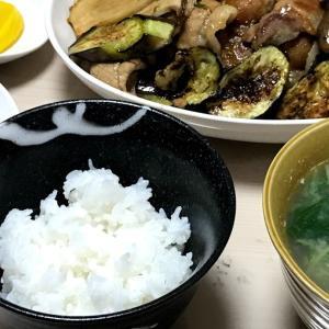 特大レタスの豚巻き、野菜焼き