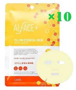 ALFACE+(オルフェス) イエローエッセンシャルマスク