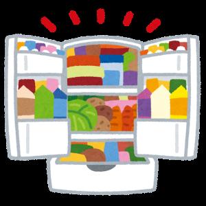 一人暮らしなのに4人家族みたいな冷蔵庫の中身・・・どうにかして!!