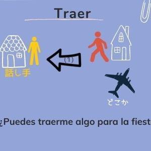 Llevar と Traer の使い分け スペイン語