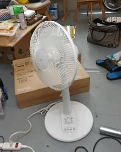 扇風機を買ってしまった。
