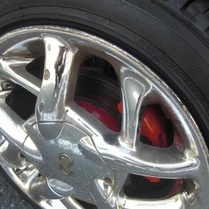 【DIY】格安!赤色塗装(ブレーキキャリパー・ブレーキドラム)