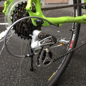 クロスバイクのディレラーハンガー交換