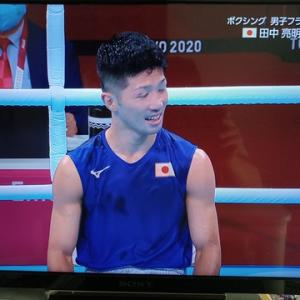 アマチュアボクシング 田中選手