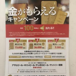 【懸賞情報】イトーヨーカドー×ビール4社:「金がもらえる」キャンペーン