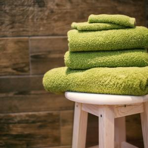 矛と盾シリーズ。バスタオル一回使って洗う?洗わない?