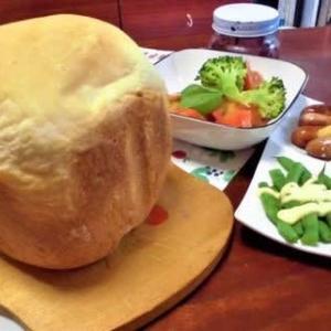 久しぶりにパンを焼きました・・・