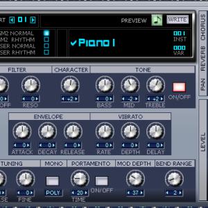 64bit版SONAR8.5のTTS-1の変な音の解決法