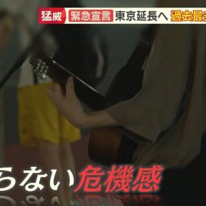 【東京】 若者の間で広がる危機感の薄れ、感染者の7割は30代以下・・