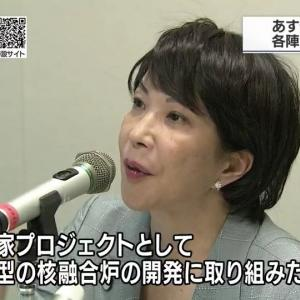 ✡️総裁選✡️    高市早苗「国家プロジェクトとして小型の核融合炉の開発に取り組みたい」