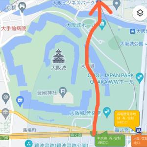 大阪城 はしっこお散歩