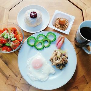 朝食 オリンピック 感動を有難う!