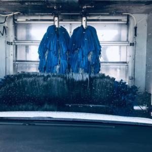 洗車してきた!!洗車機の中撮ってみた