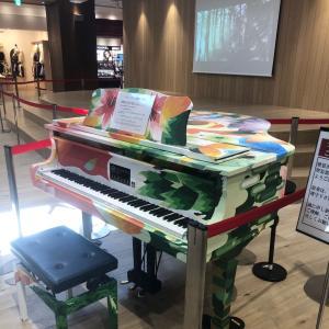 ピアノ 新松戸のテラスモール松戸でストピを弾きました