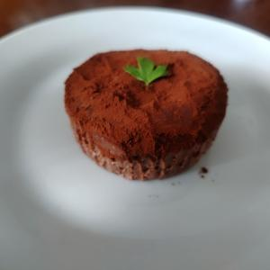 奥さんのヨーグルトでチョコレートケーキ