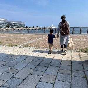 【夏休み】ぼぼたと海とショッピング