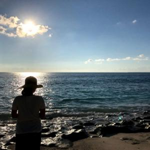 夕日スポットで有名!来間島といえば!長間浜編!宮古島子連れビーチ情報⑯
