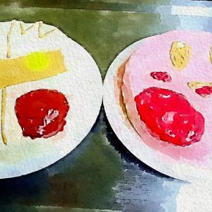 【現在日記9】2人でキャラケーキ作り🍰💖