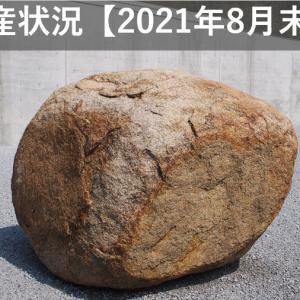 資産状況【2021年8月末】