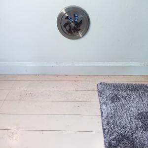 キッチン床のベタベタ汚れにアルカリ電解水を使ってみた