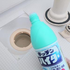 1年振りにお風呂の排水口を徹底掃除!