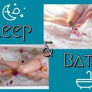 睡眠の鍵は入浴!お風呂を楽しもう!!