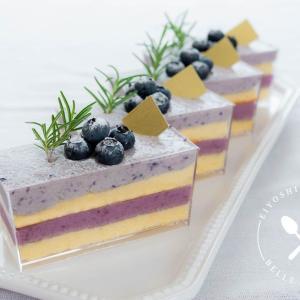 夏が旬♪ブルーベリームースケーキのレシピ・作り方