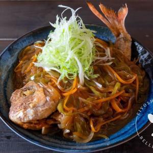 千切り野菜たっぷり♪真鯛の中華甘酢あんかけのレシピ・作り方