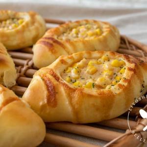 究極のコーンパン♪明太マヨコーンパンのレシピ・作り方